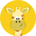Giraffe's coloring book