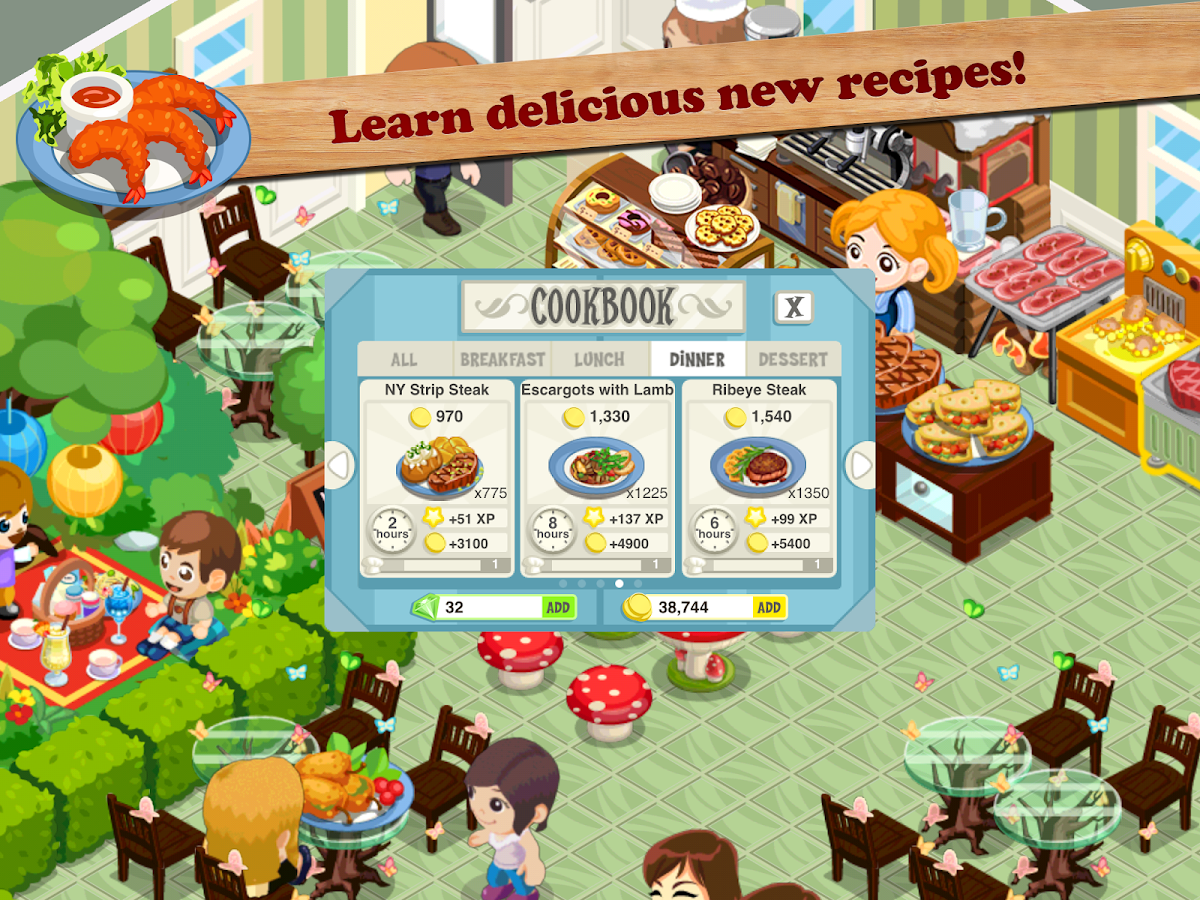 Restaurant Story Hot Rod Cafe Android Apps On Google Play