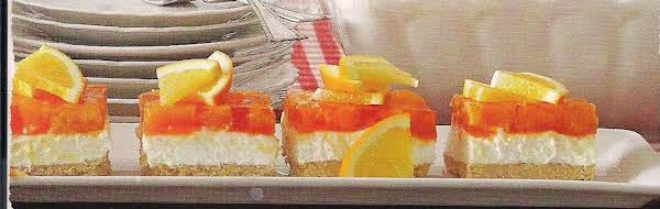 Mandarin Cream Salad With Coconut Crumb Crust