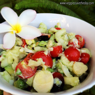 Summer Hearts of Palm Salad