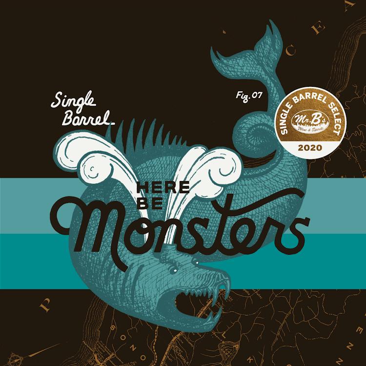 Logo of Cerebral Here Be Monsters - Single Barrel Select (Mr. Bs)