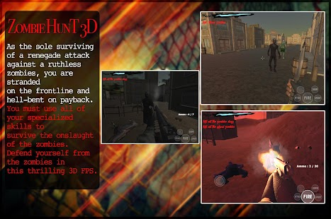 Zombie Hunt 3D - náhled