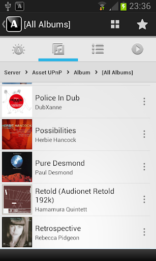 Audionet Music Manager Trial screenshots 2