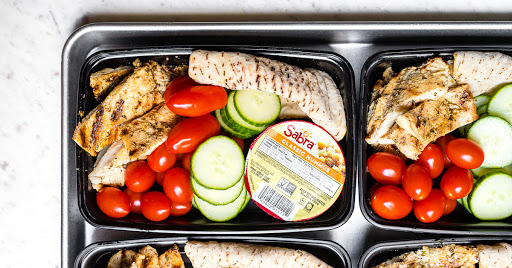 Chicken Hummus Bistro Box
