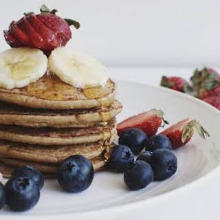 Vegan Oat Flour Pancakes Recipes.