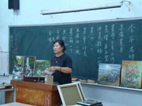 Photo: 20110913頭份(二)油畫創作 001