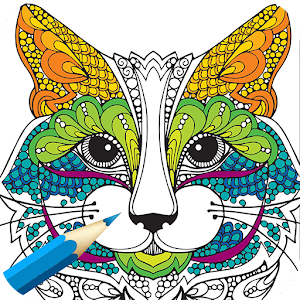 adult coloring bookanimals - Coloring Book Animals