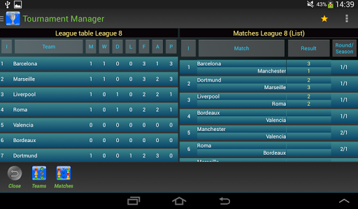 Tournament Manager Pro