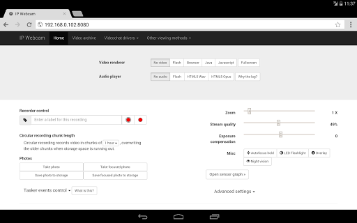 IP Webcam screenshot 5