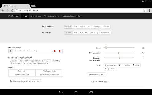 IP Webcam - Apps on Google Play