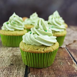 Avocado Cupcakes with Whipped Avocado Cream.