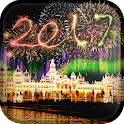 2017 New Year Live Wallpaper icon