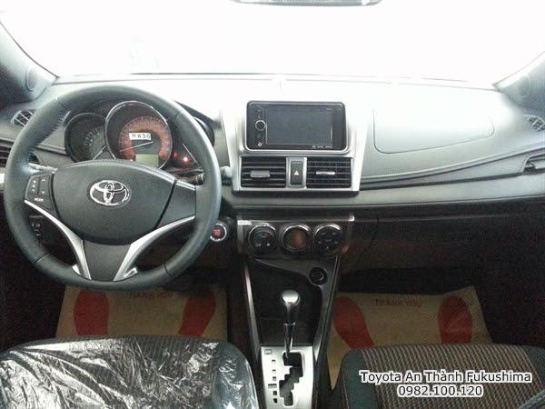 Giảm Giá Xe Ôtô Toyota Yaris 2016 1.3 G Nhập Khẩu 2