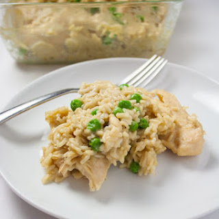 Baked Chicken and Rice Casserole.