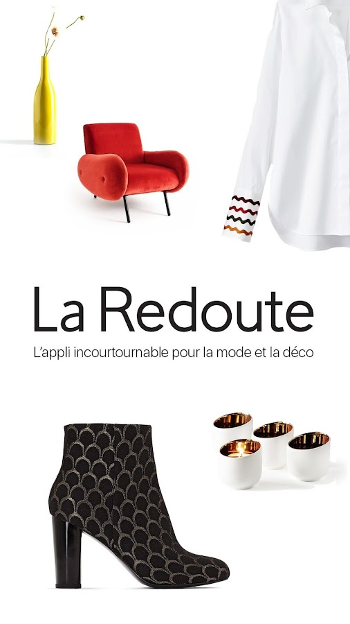 la redoute mode maison applications android sur google play. Black Bedroom Furniture Sets. Home Design Ideas