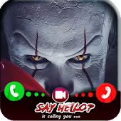 Video Call from Pennywise Clown chat-sms