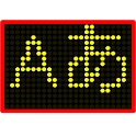 LED Scroller - Electronic display icon