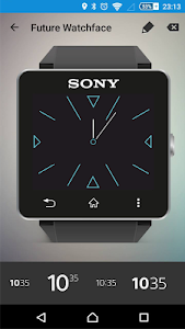 Future Watch face for SW2 Q7 screenshot 0