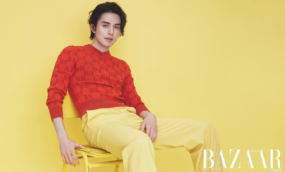lee dong wook bazaar 2020 10