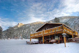 Photo: The Chalet Building after a good snow.