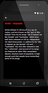 doriko Songs & Lyrics, Current. - náhled
