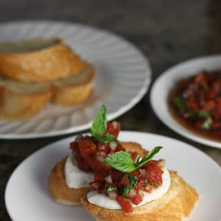 Easy Five Minute Bruschetta