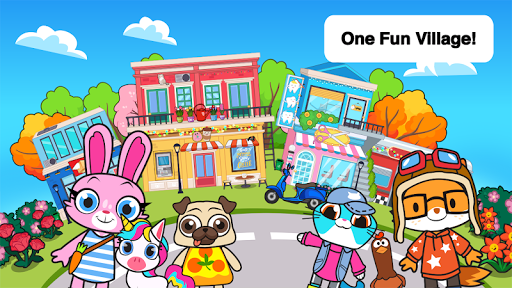 Télécharger Main Street Pets Village - Meet Friends in Town  APK MOD (Astuce) screenshots 1