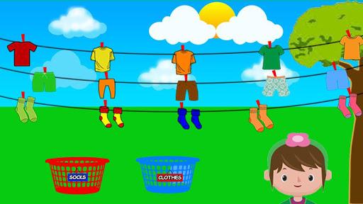 Code Triche Laver et repasser le linge: enfants jeu de lessive APK MOD screenshots 5