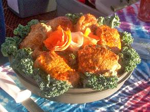 Photo: Blue Cheese Stuffed Pork Loin Chops