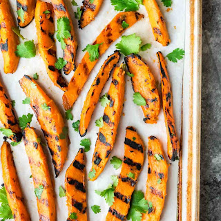 Grilled Sweet Potato Fries.