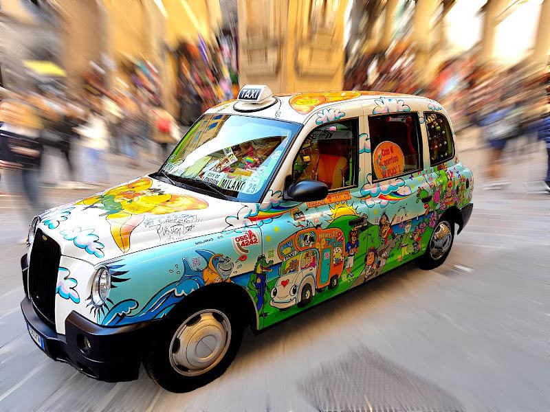 Il Taxi del sorriso di Mar-co
