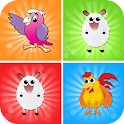 Animal Memory Games icon