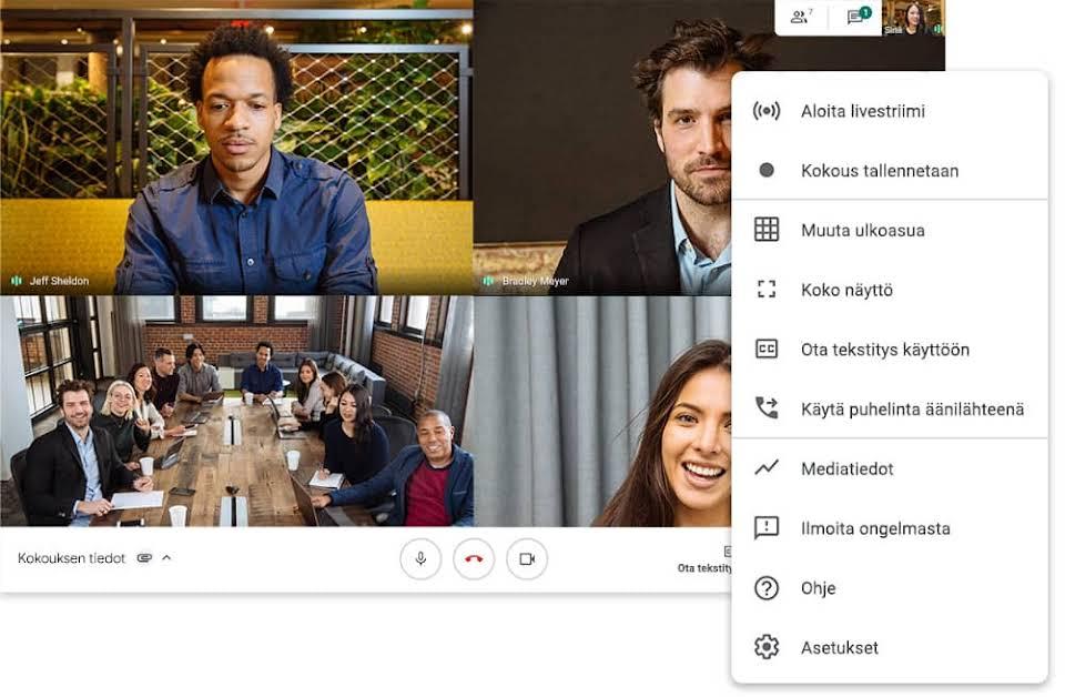 Mikä on Google Meet?