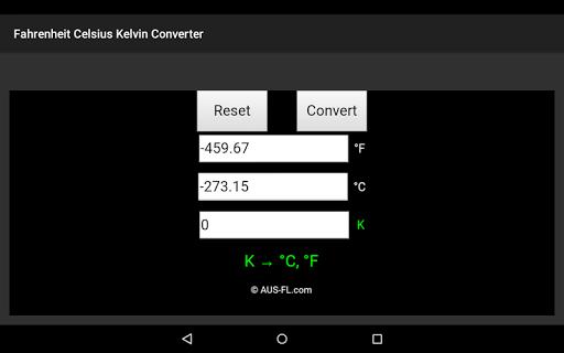 玩免費工具APP|下載華氏度攝氏度開爾文溫度轉換器 app不用錢|硬是要APP