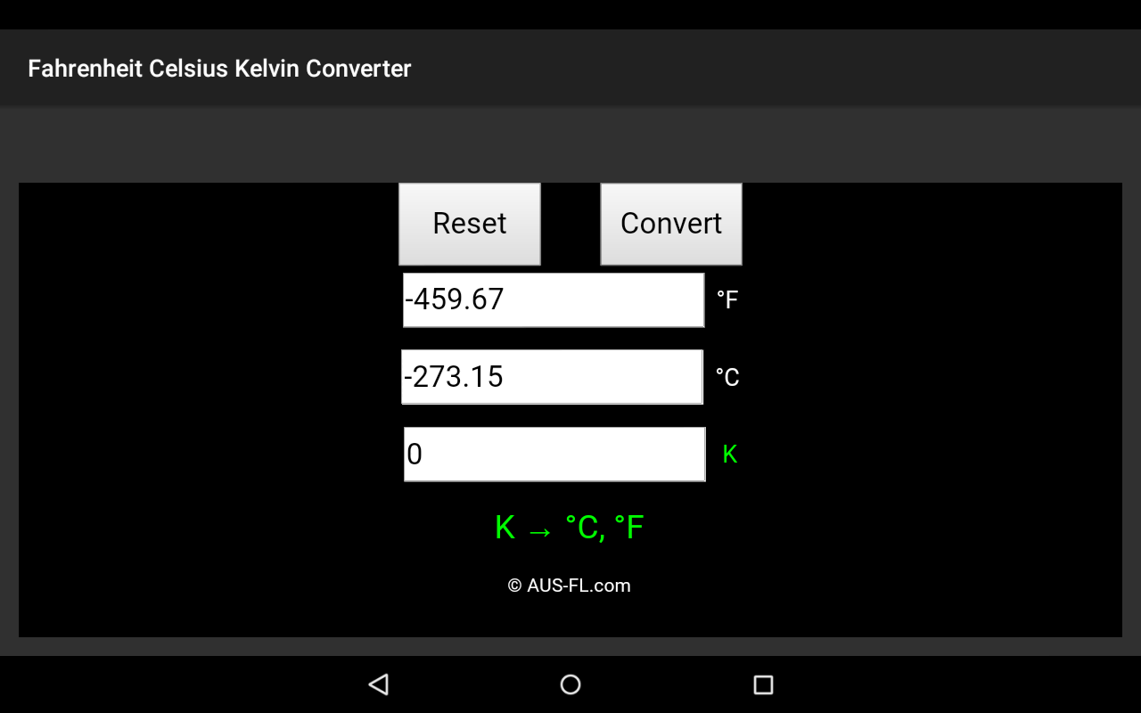 Fahrenheit celsius kelvin temperature converter android apps on fahrenheit celsius kelvin temperature converter screenshot nvjuhfo Image collections