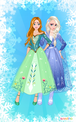 Icy or Fire dress up game - Frozen Land 2.4 screenshots 5