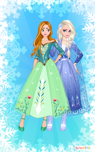 Icy or Fire dress up game – Frozen Land 5