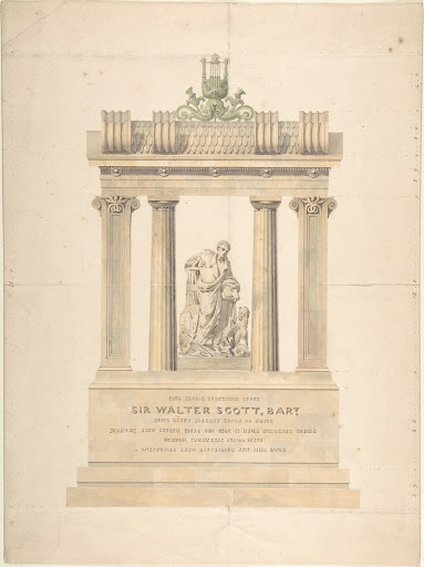 Monument to Sir Walter Scott, Bart.