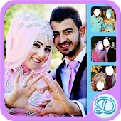 Hijab Wedding Couple