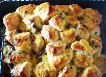 Sausage Biscuit Bake