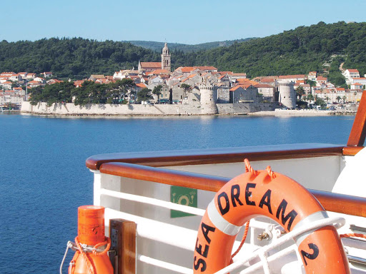 Seadream-Korcula.jpg - Set sail for Korcula, Croatia, on SeaDream II.