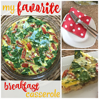 My Favorite Breakfast Casserole Recipe
