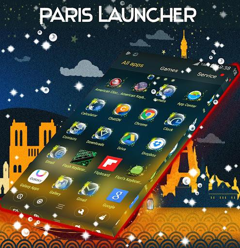 巴黎GO桌面主題|玩個人化App免費|玩APPs