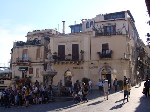Photo: Taormina, hyper touristique...