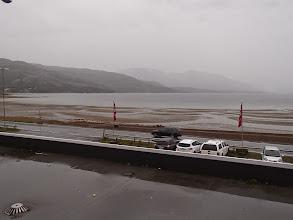 Photo: Hotelli Bjerkvik - vuorovettä odotellassa. Sadevettä riittää kyllä.