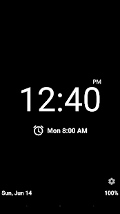 Night Clock (Alarm Clock)- screenshot thumbnail