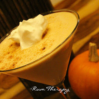 Pumpkin Spiced Rum Cocktail Recipe