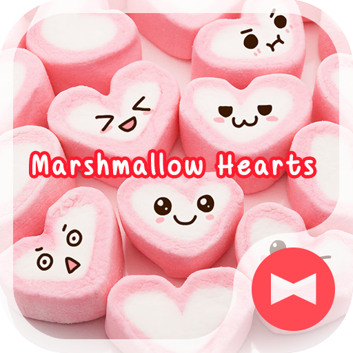 Marshmallow Hearts +HOME Theme Icon