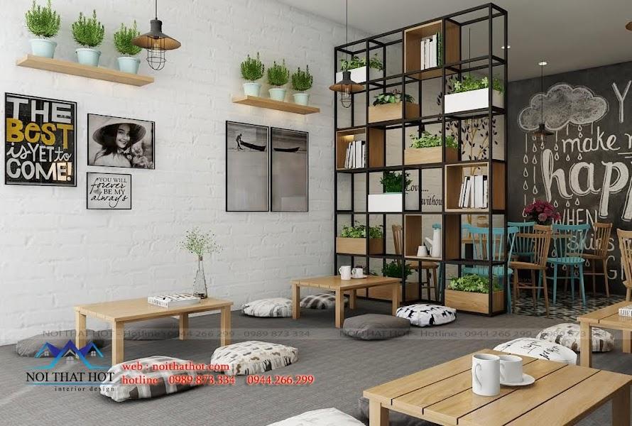 thiết kế nội thất quán cafe cao cấp