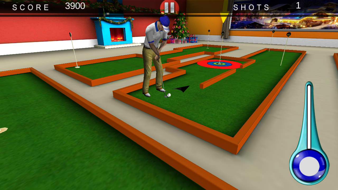 golf indoor 3d android apps on google play. Black Bedroom Furniture Sets. Home Design Ideas